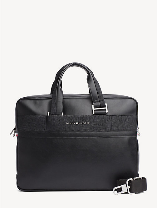 TOMMY HILFIGER TH Business Laptop Bag - BLACK - TOMMY HILFIGER Laptop Bags - main image