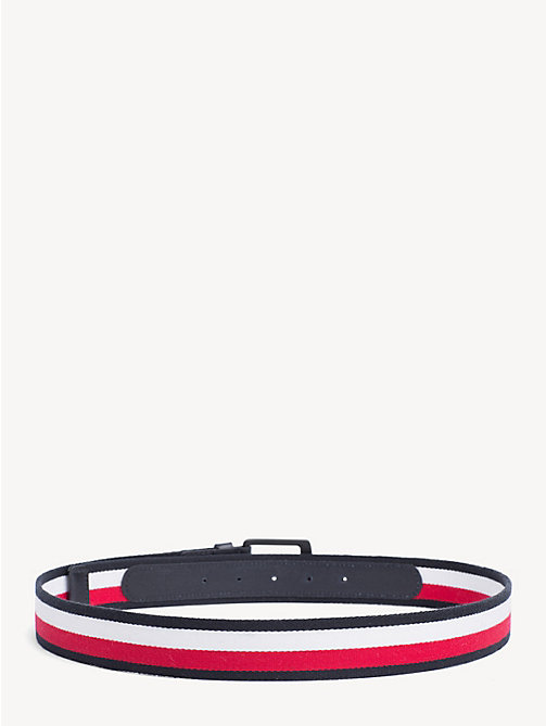 TOMMY HILFIGER Leather Signature Belt - CORPORATE - TOMMY HILFIGER NEW IN - detail image 1