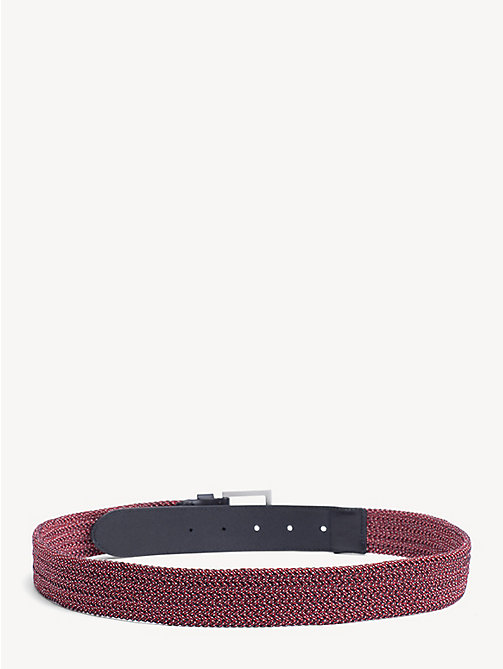 TOMMY HILFIGER Elastic Webbing Belt - CORPORATE - TOMMY HILFIGER Belts - detail image 1