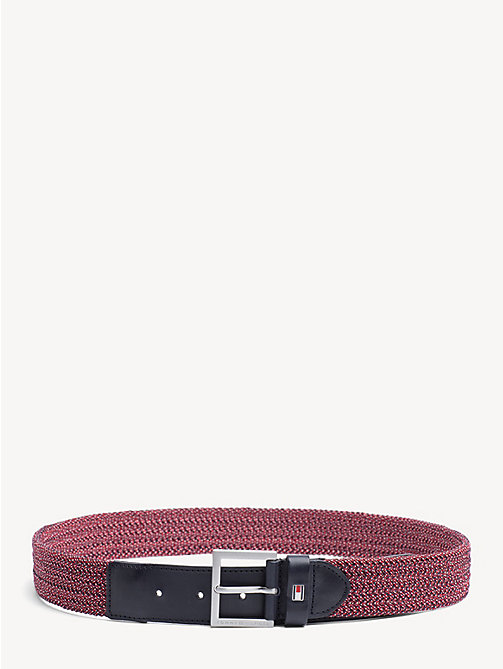 TOMMY HILFIGER Elastic Webbing Belt - CORPORATE - TOMMY HILFIGER Belts - main image