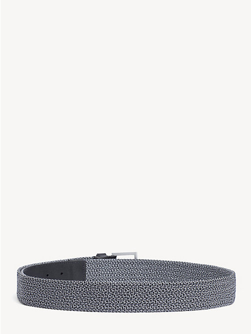 TOMMY HILFIGER Elastic Webbing Belt - GREY MIX - TOMMY HILFIGER Belts - detail image 1