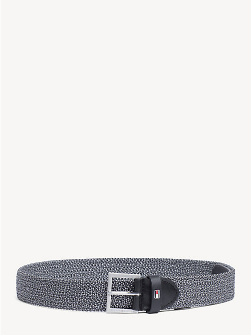 TOMMY HILFIGER Elastic Webbing Belt - GREY MIX - TOMMY HILFIGER NEW IN - main image