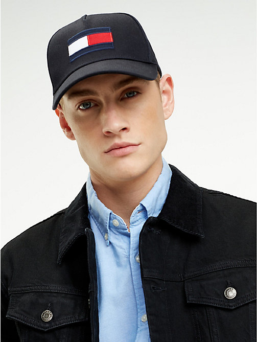 TOMMY HILFIGER Flag Baseball Cap - TOMMY NAVY - TOMMY HILFIGER Caps & Beanies - detail image 1