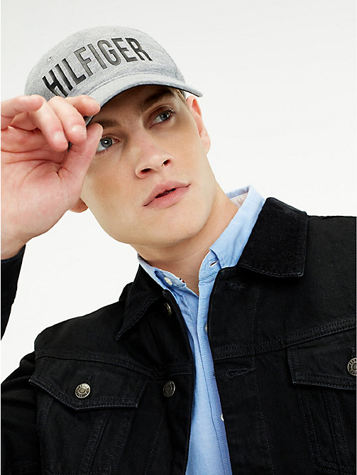 TOMMY HILFIGER Print Baseball Cap - GREY MIX - TOMMY HILFIGER Caps & Beanies - detail image 1