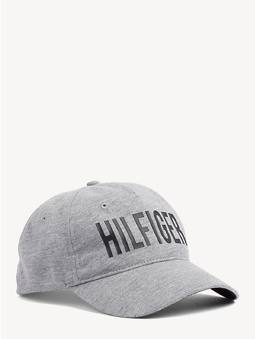 TOMMY HILFIGER Print Baseball Cap - GREY MIX - TOMMY HILFIGER Caps & Beanies - main image