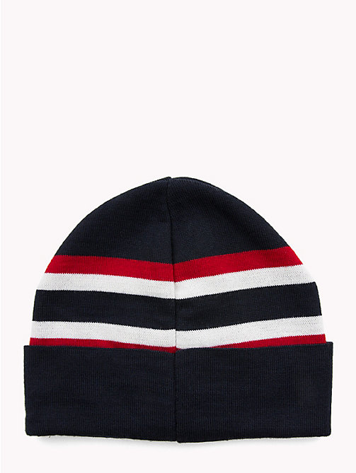 TOMMY HILFIGER Logo Wool Blend Beanie - CORPORATE - TOMMY HILFIGER NEW IN - detail image 1