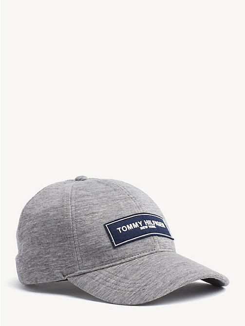 TOMMY HILFIGER Logo Patch Baseball Cap - MID GREY - TOMMY HILFIGER Caps & Beanies - main image