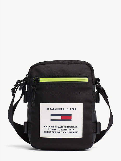 TOMMY JEANS TJ Tech Reporter Bag - BLACK - TOMMY JEANS Crossbody Bags - main image