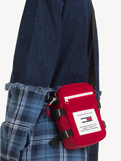 TOMMY JEANS TJ Tech Reporter Bag - SAMBA - TOMMY JEANS Crossbody Bags - detail image 1