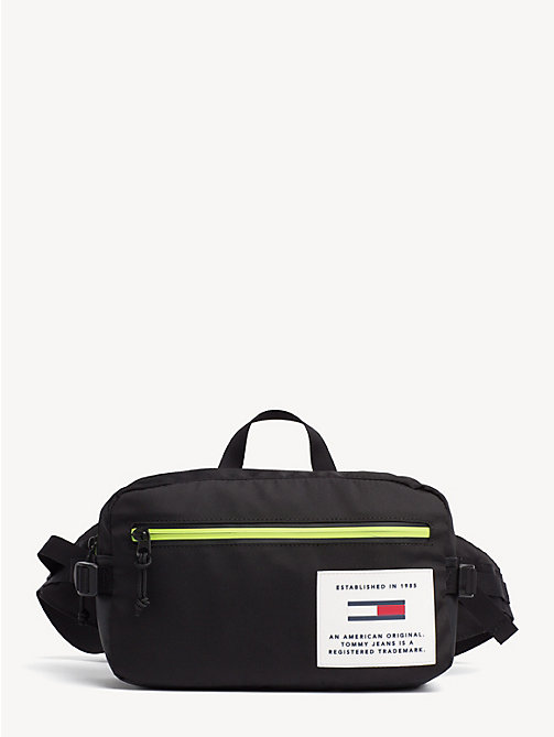 TOMMY JEANS TH Tech Crossbody Bag - BLACK - TOMMY JEANS Crossbody Bags - main image