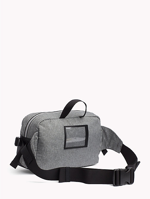 TOMMY JEANS TH Tech Reflective Crossbody Bag - LT GREY HTR - TOMMY JEANS NEW IN - detail image 1