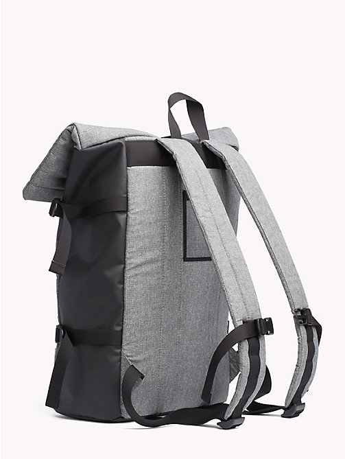 TOMMY JEANS TH Tech Roll Backpack - LT GREY HTR - TOMMY JEANS NEW IN - detail image 1