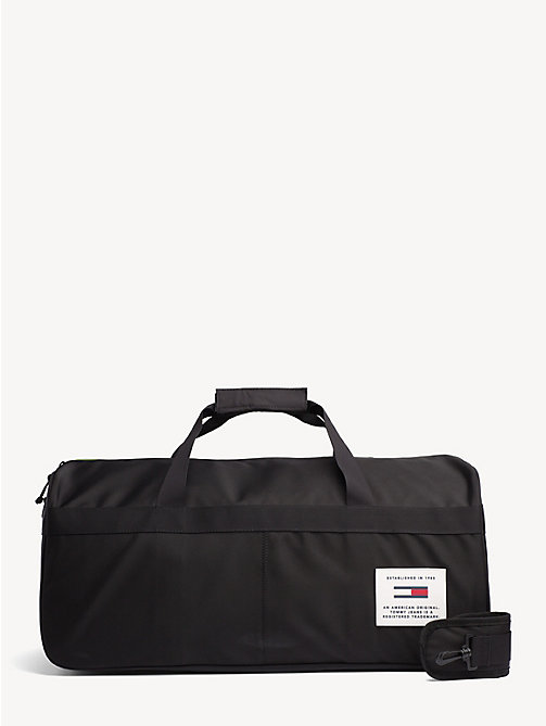 TOMMY JEANS TH Tech Weekender Bag - BLACK - TOMMY JEANS Duffle Bags - main image