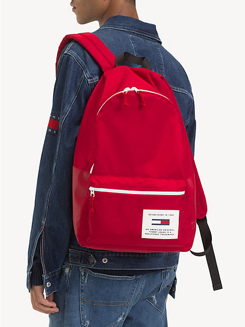 TOMMY JEANS TH Tech Neon Trim Dome Backpack - SAMBA - TOMMY JEANS Backpacks - detail image 1