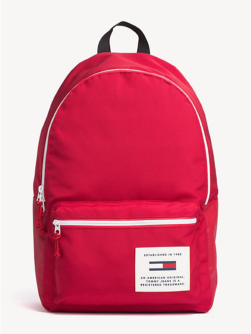 TOMMY JEANS TH Tech Neon Trim Dome Backpack - SAMBA - TOMMY JEANS Backpacks - main image