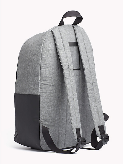 TOMMY JEANS TH Tech Dome Backpack - LT GREY HTR - TOMMY JEANS NEW IN - detail image 1