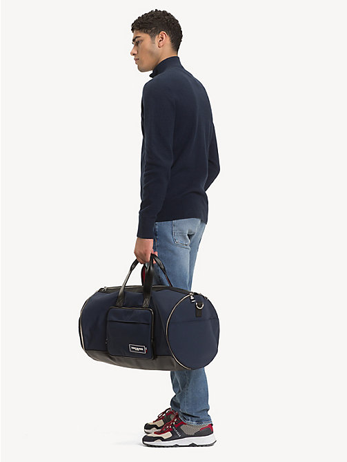 TOMMY HILFIGER Sac weekend TH Patch convertible - TOMMY NAVY / BLACK - TOMMY HILFIGER Sacs de voyage - image détaillée 1