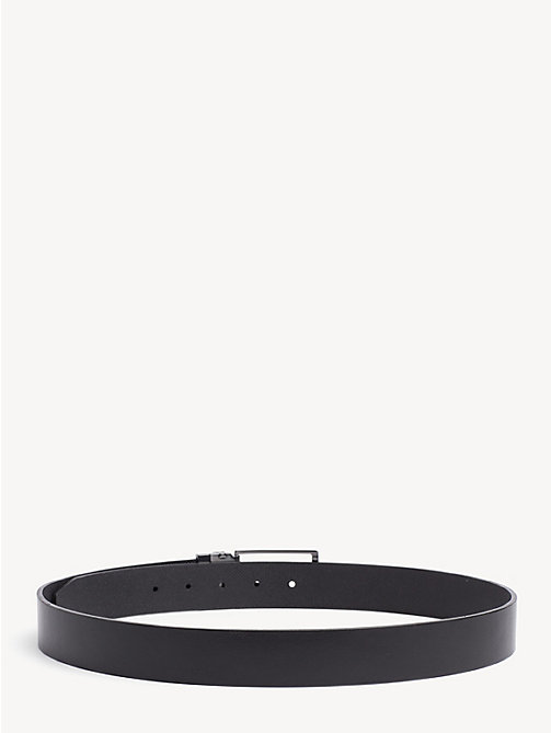 TOMMY HILFIGER Reversible Leather Belt - BLACK/BLACK - TOMMY HILFIGER Belts - detail image 1