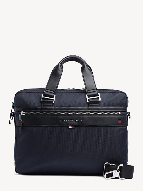 TOMMY HILFIGER Elevated Business Bag - TOMMY NAVY - TOMMY HILFIGER Laptop Bags - main image