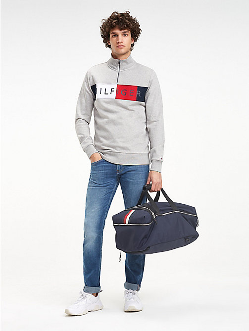 TOMMY HILFIGER Elevated Convertible Weekend Bag - TOMMY NAVY - TOMMY HILFIGER Duffle Bags - detail image 1