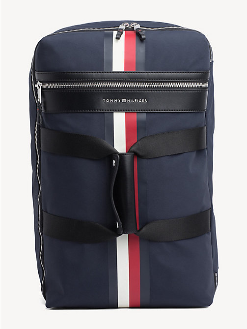 TOMMY HILFIGER Elevated Convertible Weekend Bag - TOMMY NAVY - TOMMY HILFIGER Duffle Bags - main image