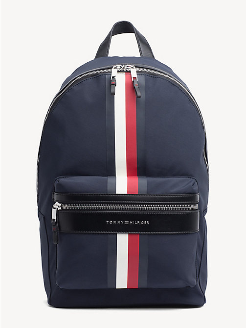 TOMMY HILFIGER Elevated Signature Tape Backpack - TOMMY NAVY - TOMMY HILFIGER Backpacks - main image