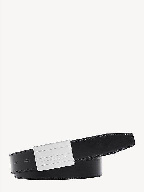 NEW TOMMY HILFIGER Interchangeable Buckle Leather Belt - BLACK TESTA DI  MORO - TOMMY HILFIGER Belts ... 83e3aeef0d5