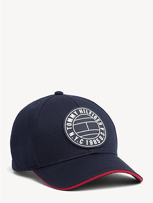92c154c2fb8e3 TOMMY HILFIGERRound Patch Baseball Cap