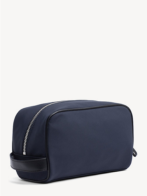 TOMMY HILFIGER Elevated Stripe Washbag - TOMMY NAVY - TOMMY HILFIGER Duffle Bags - detail image 1