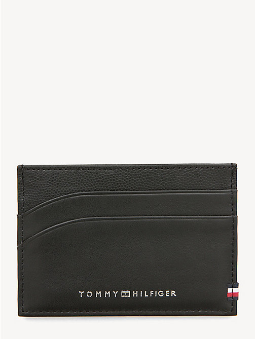 65ed70f2bca TOMMY HILFIGERContrast Texture Leather Card Holder