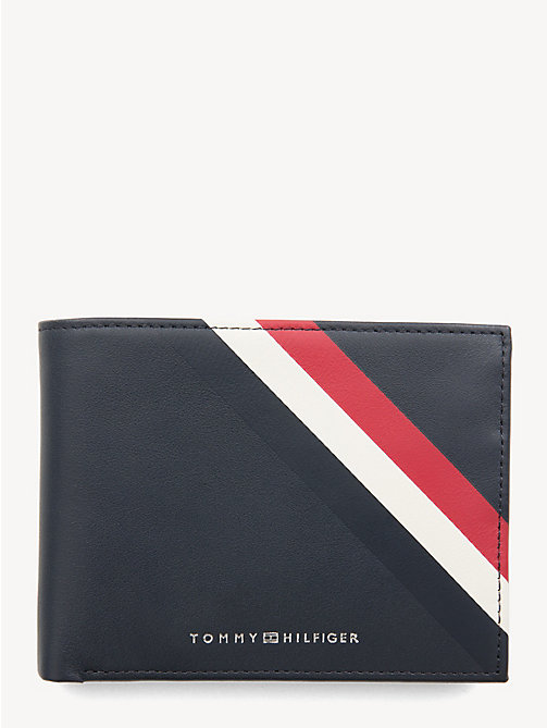 TOMMY HILFIGER Signature Card and Coin Wallet - CORPORATE - TOMMY HILFIGER Wallets & Keyrings - main image