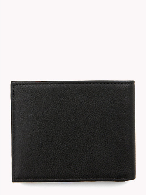 TOMMY HILFIGER Signature Monogram Small Card Wallet - BLACK - TOMMY HILFIGER Wallets & Keyrings - detail image 1