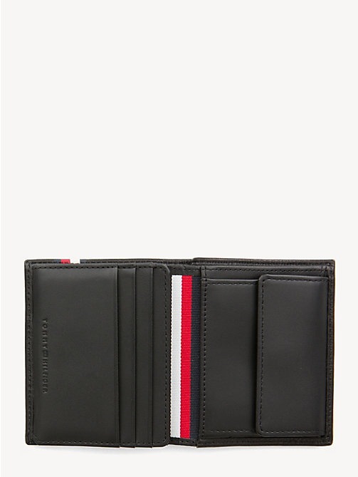 TOMMY HILFIGER Signature Monogram Tri-Fold Wallet - BLACK - TOMMY HILFIGER Wallets & Keyrings - detail image 1