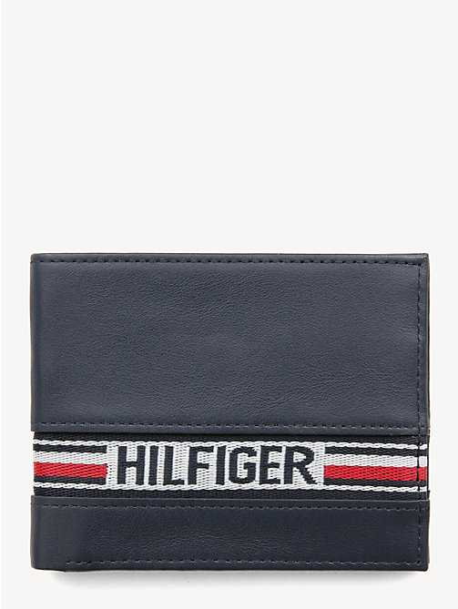 TOMMY HILFIGER Tommy Hilfiger Tape Small Card Wallet - TOMMY NAVY - TOMMY HILFIGER Wallets & Keyrings - main image