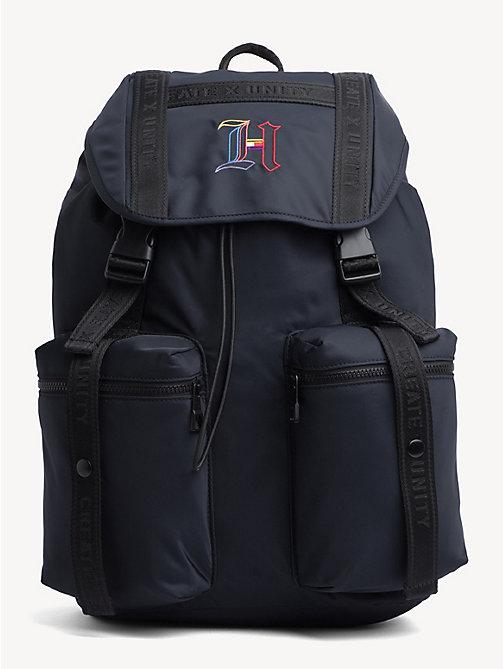 5645349c27fb TOMMY HILFIGERLewis Hamilton Monogram Flap Backpack
