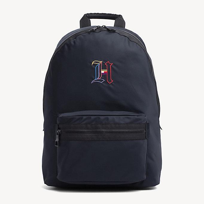 637b7c8a black lewis hamilton dome backpack for men tommy hilfiger