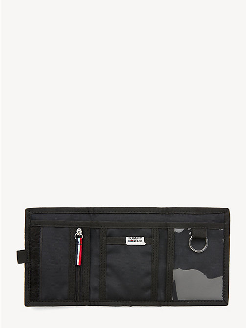 TOMMY JEANS TJ Tech Trifold Wallet - BLACK - TOMMY JEANS Shoes & Accessories - detail image 1