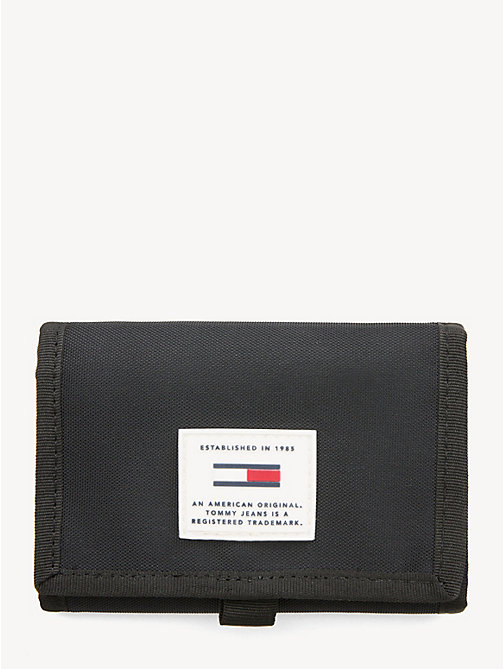 TOMMY JEANS TJ Tech Trifold Wallet - BLACK - TOMMY JEANS Shoes & Accessories - main image