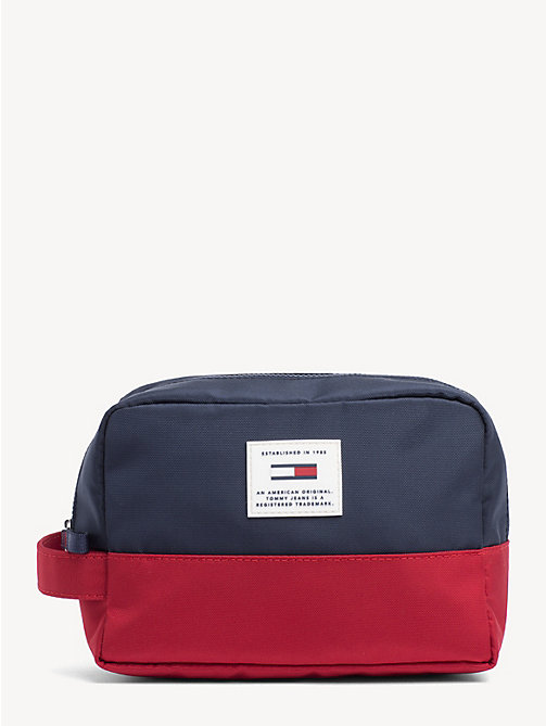 TOMMY JEANS TJ Tech Colour-Blocked Washbag - CORPORATE - TOMMY JEANS Shoes & Accessories - main image