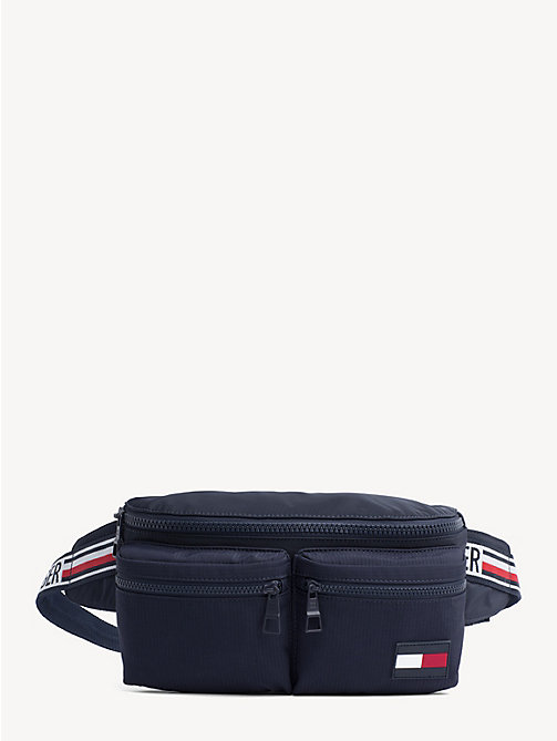 TOMMY HILFIGER Logo Tape Bumbag - TOMMY NAVY - TOMMY HILFIGER Crossbody Bags - main image