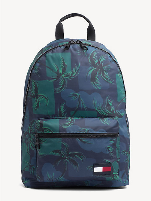 66d224d53 TOMMY HILFIGERPalm Print Backpack