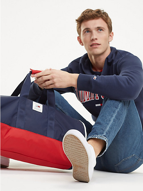 TOMMY JEANS TJ Tech Patch Duffel Bag - CORPORATE - TOMMY JEANS Shoes & Accessories - detail image 1