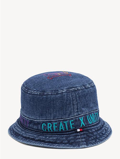 9ec846882f9 TOMMY HILFIGERLewis Hamilton Denim Bucket Hat. £45.00. NEW