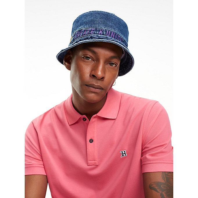 Lewis Hamilton Denim Bucket Hat. TOMMY HILFIGER b624bb5c125