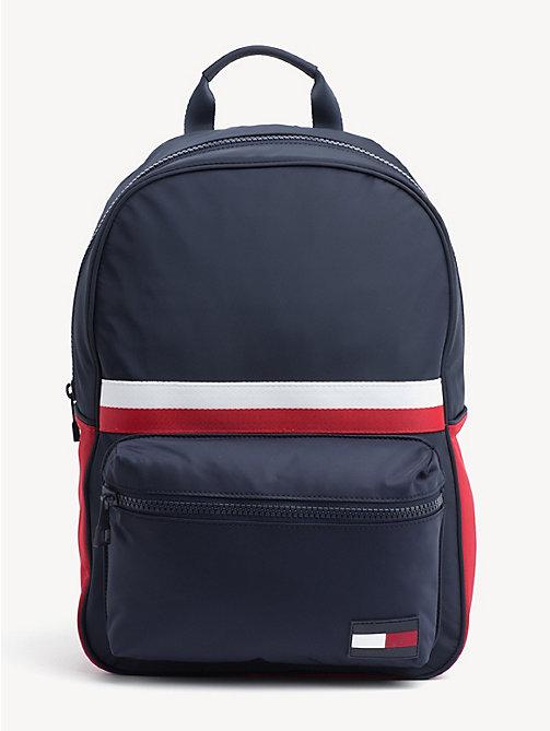 7fd881d01f288 TOMMY HILFIGERSygnowany plecak sportowy z kieszenią na laptopa