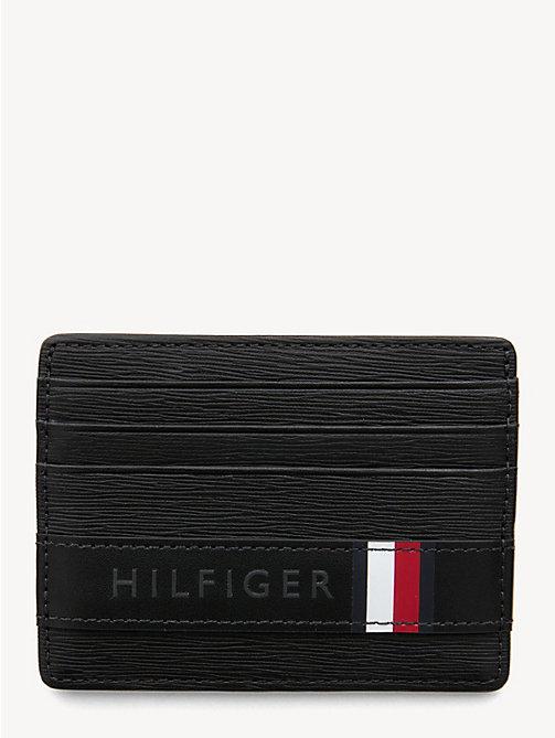 c3dc8fc6d231 TOMMY HILFIGERTextured Leather Card Holder