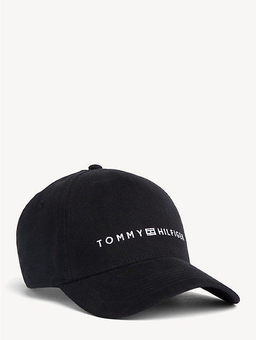 24d131d4c1350 TOMMY HILFIGERDiagonal Signature Tape Baseball Cap. £35.00