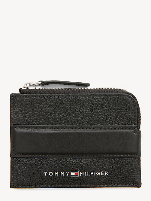06340b2aadbf TOMMY HILFIGERDowntown Leather Card Holder
