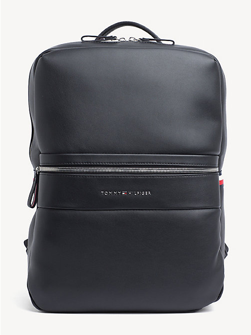 c4cb64d5b black signature tape backpack for men tommy hilfiger