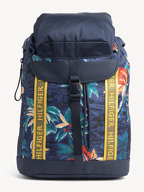 6392fcc63d04 TOMMY HILFIGERTropical Flap Backpack